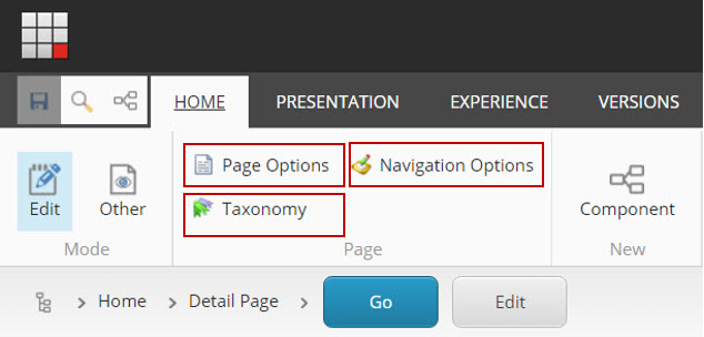 Providing access to non-explicit fields in Sitecore's Experience Editor
