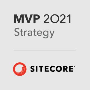 Sitecore MVP 2021 Strategy